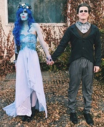 The Corpse Bride Couple Homemade Costume