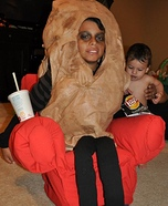 Couch Potato Homemade Costume