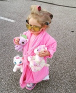 The Crazy Cat Lady Baby Homemade Costume