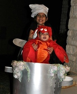 Lobster Boil Stroller Halloween Costume