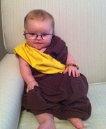 The Dalai Lama Baby Homemade Costume