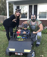 The Dark Knight Family Homemade Costume