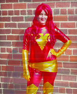 The Dark Phoenix Homemade Costume