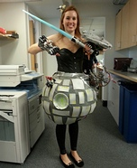 The Death Star Homemade Costume