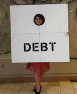The Debt Ceiling Homemade Costume