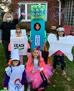 The Dental Health Crew Homemade Costume