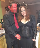The Devil and the Devil's Wife Homemade Costume