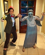 The Doctor and a Weeping Angel Costume