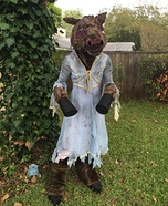 The Donkey Lady Homemade Costume