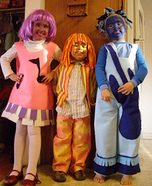 The Doodlebops Homemade Costumes
