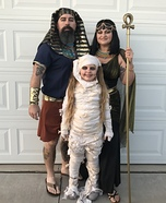 The Egyptian Crew Homemade Costume