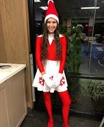 The Elf on the Shelf Homemade Costume