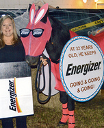 The Energizer Bunny Horse Homemade Costume