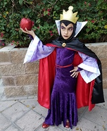 The Evil Queen Homemade Costume