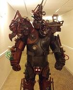 Steampunk Evil Tinman Costume