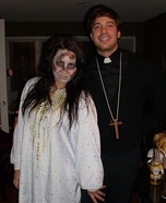 Father Damien and Regan Costumes