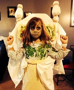 Halloween costume ideas for girls: The Exorcist Homemade Costume