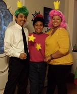 Fun family Halloween costume ideas - The Fairly Oddparents Family Costume
