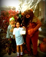 The Family of Oz Homemade Costume