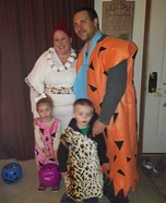 The Flintstones Homemade Costume