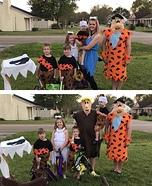 The Flintstones Homemade Costumes