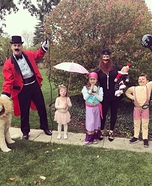 The Freak Show Family Homemade Costume