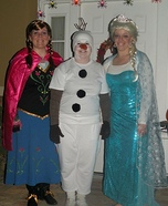 The Frozen Gang Homemade Costume