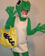 The Geico Gecko Homemade Costume