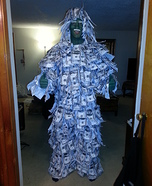 The Geico Money Man Costume
