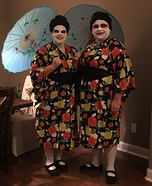 The Geishas Homemade Costume