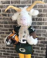 The GOAT Homemade Costume