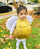 The Golden Snitch Homemade Costume