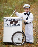 The Good Humor Man Homemade Costume