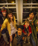 The Goonies Family Homemade Costume