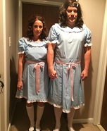 Coolest couples Halloween costumes - The Grady Twins Costume