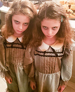 The Grady Twins Homemade Costume
