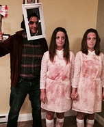 The Grady Twins from The Shining Homemade Costume