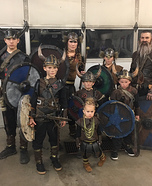 The Grant Viking Family Homemade Costume
