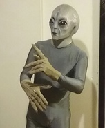 The Grey Alien Costume