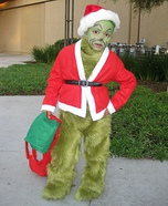 Children's book Halloween costumes - The Grinch Who Stole Christmas