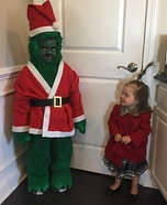 The Grinch Homemade Costume