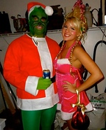 The Grinch and Cindy Lou Who Couple Costume