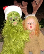 The Grinch and his Dog Max Homemade Costume