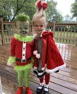 The Grinch & Cindy Lou Homemade Costume