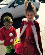 The Grinch & Cindy Lou Who Homemade Costume