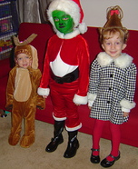 The Grinch Who Stole Christmas Homemade Costumes