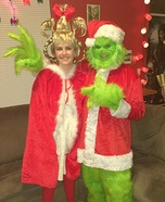 The Grinch Who Stole Halloween Homemade Costume