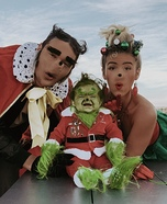 The Grinch - Whoville Homemade Costume