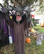 The Gruesome Bat Homemade Costume