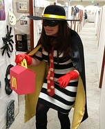 The Hamburglar Homemade Costume